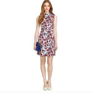 Brooks Brothers. Red fleece label poppy dress